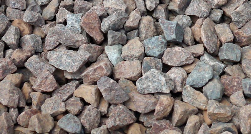 Pink To Gray Granite : Pink garden pebbles ftempo